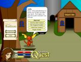 World Review: Adventure Quest welcome screen