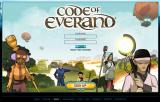 World Review: Code of Everand welcome screen