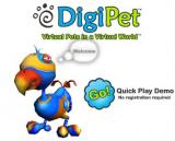 World Review: DigiPet welcome screen