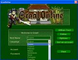 World Review: Graal welcome screen